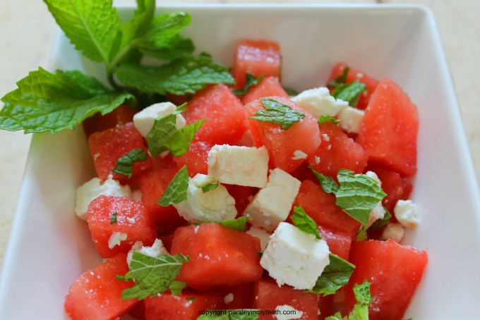 Feta Salad Related Keywords & Suggestions - Watermelon And Feta Salad ...