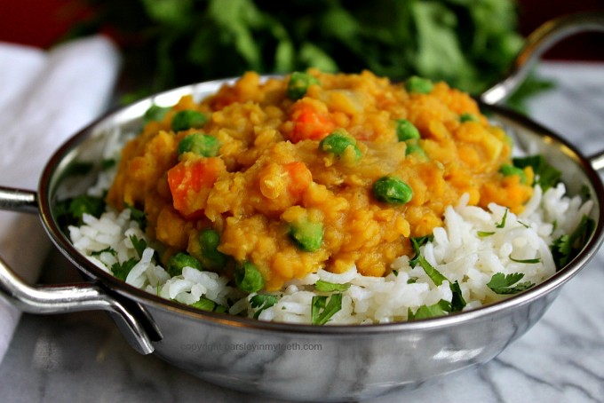 Curried Vegetable Dal feature