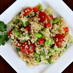 Spring Quinoa Salad with Meyer Lemon Dressing