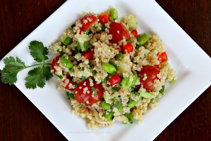 Spring Quinoa Salad feature