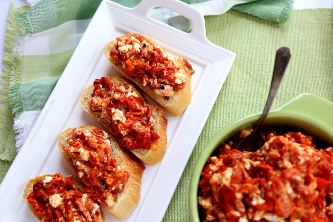 Roasted Red Peppers & Feta 7