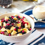 Blueberry Buckwheat & Banana Breakfast Bowl
