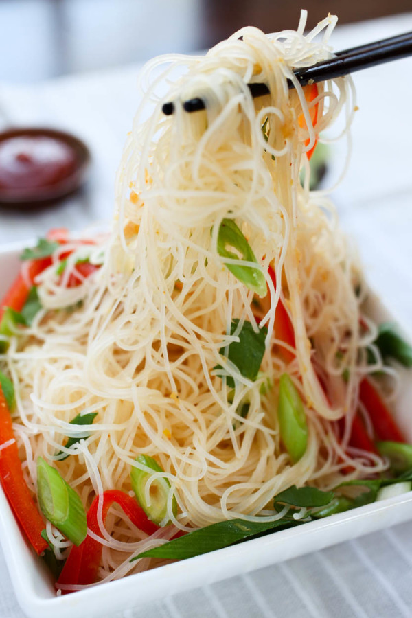 Spicy Citrus Asian Noodles & Tofu by Parlsey In My Teeth 6