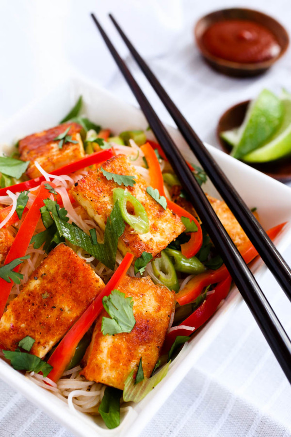 Spicy Citrus Asian Noodles & Tofu by Parlsey In My Teeth 8