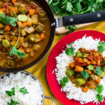 Curried Okra & Potatoes