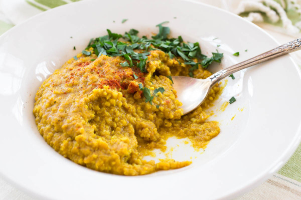 Spiced Lentil & Millet Stew by Parsley In My Teeth 5