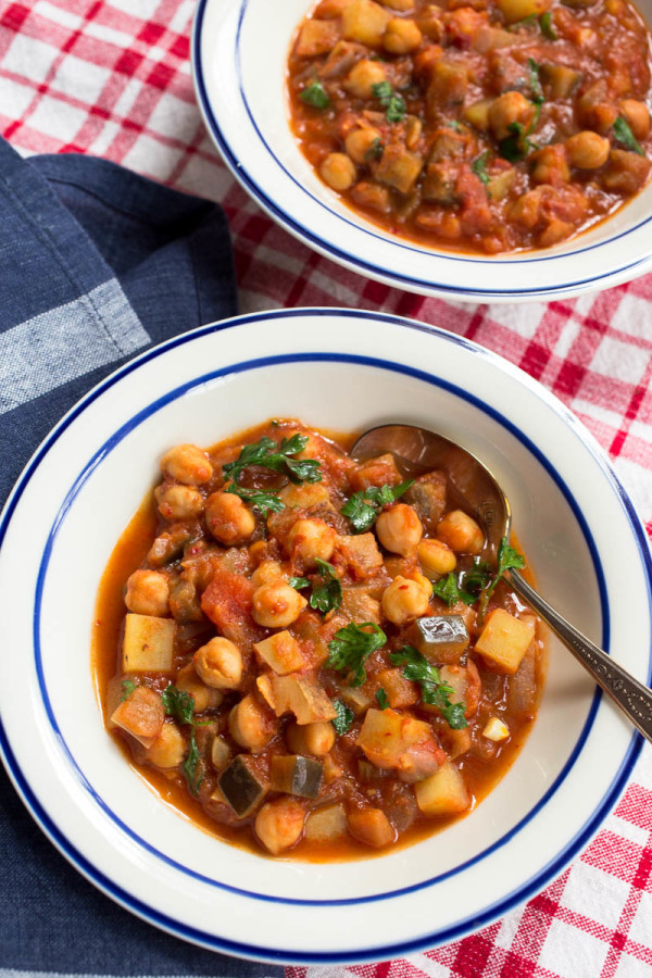 and peppers recipes chickpea stew with eggplants tomatoes and peppers ...