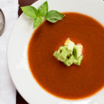 Smoky Gazpacho with Avocado