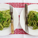 15-Minute Sweet Pea & Basil Pesto