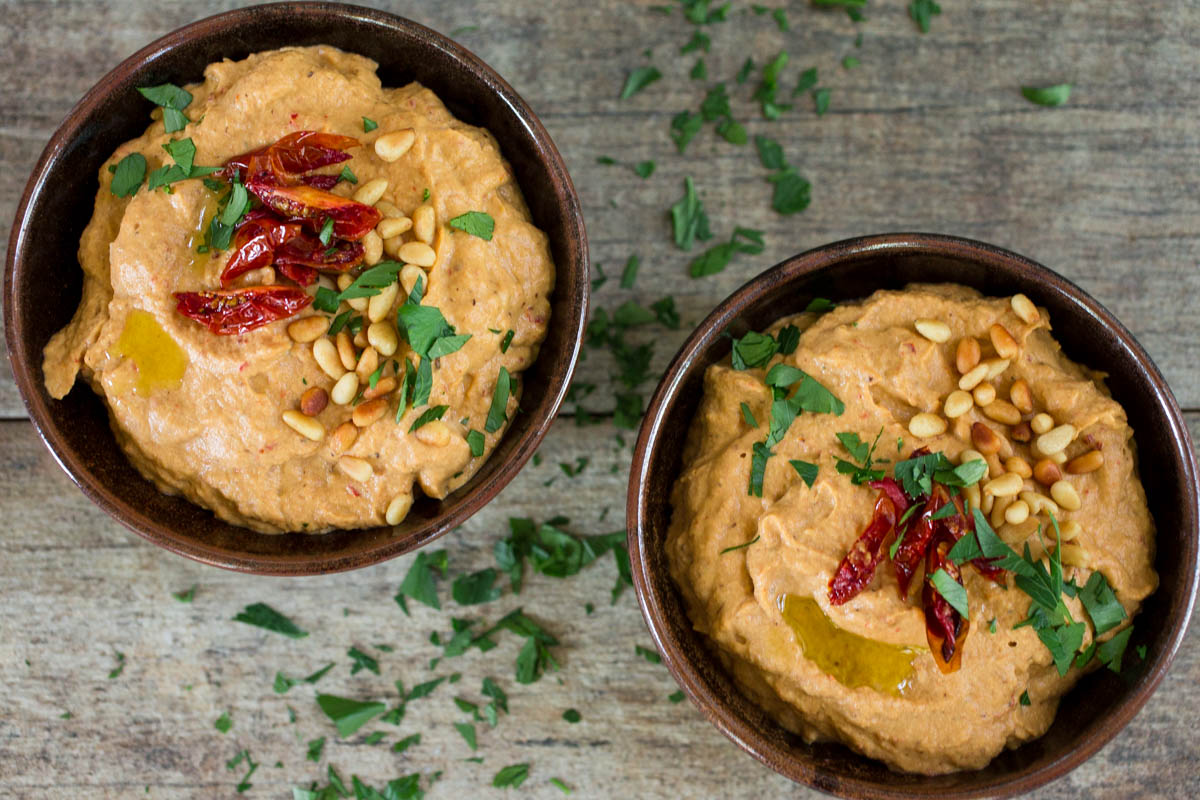 ... Grilled Baba Ghanouj with Harissa , as well as nutrition information