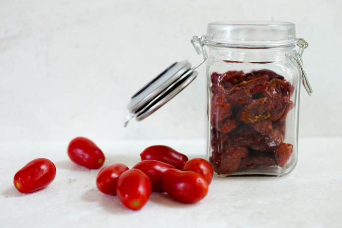 Homemade Sun-Dried Tomatoes from Parsley In My Teeth