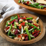 Clean Three-Bean Salad