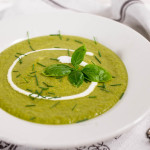 Cream of Broccoli & Basil Soup