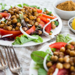 Schwarma-Spiced Chickpea Salad