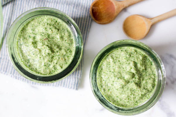 All-Purpose Jalapeno Pesto Sauce by Parsley In My Teeth