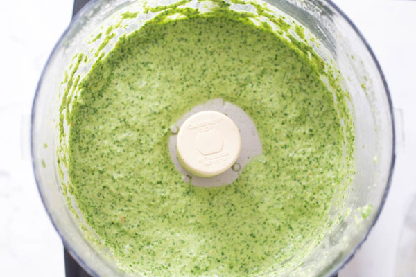 All-Purpose Jalapeno Pesto Sauce prep by Parsley In My Teeth