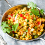 Indian Corn Bhel + Book Review!