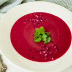 Curried Beet & Potato Soup