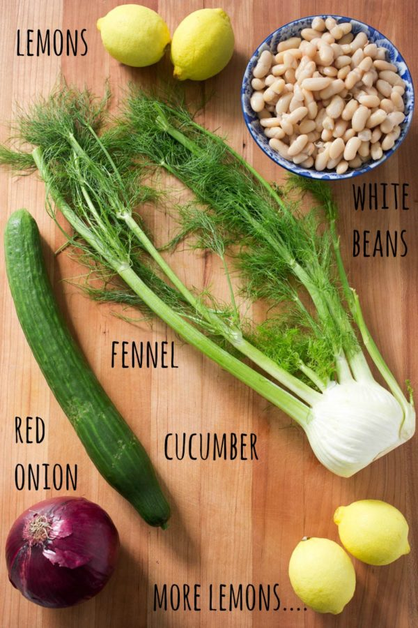 fennel-white-bean-salad-with-red-onion-cucumbers-ingredients-parsley-in-my-teeth
