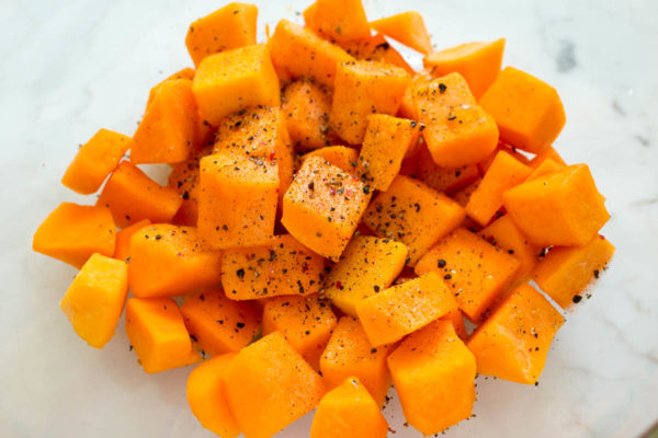 roasted-butternut-squash-with-hibiscus-glaze-prep-parsley-in-my-teeth