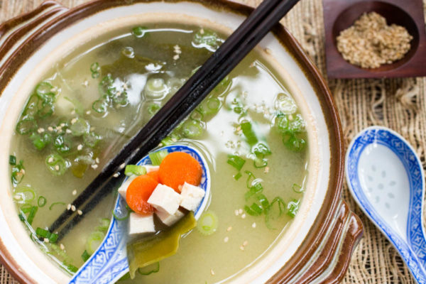 Traditional Miso Soup by Parsley In My Teeth, healthy easy soup