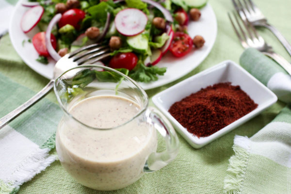 Tahini-Sumac Dressing by Parsley In My Teeth